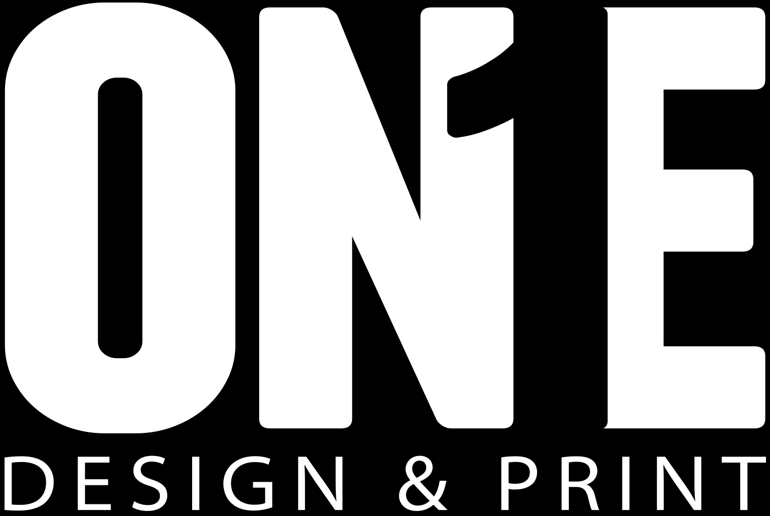 One Design and Print Logo